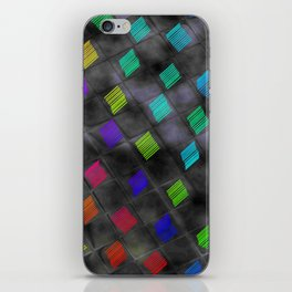Square Color iPhone Skin