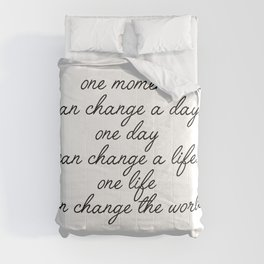 one moment Comforters