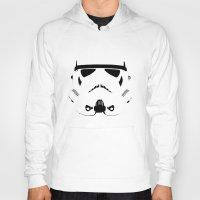 storm trooper Hoodies featuring Storm Trooper by WaXaVeJu