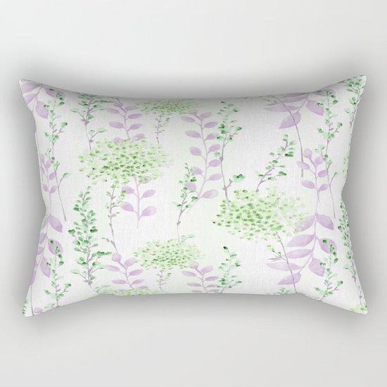 Floral Pattern 10 Rectangular Pillow