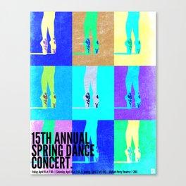 Dance Concert 2011 Canvas Print