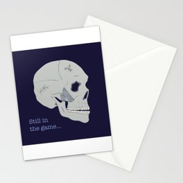 Still in the game Stationery Cards