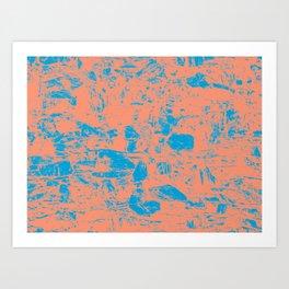 Abstract Marina Butterum Art Print