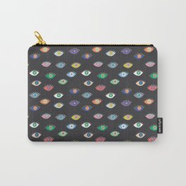 Eyez (Black) Carry-All Pouch