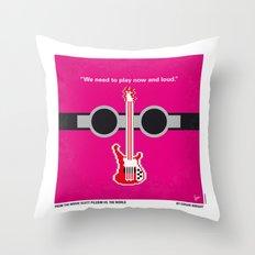 No236 My Scott Pelgrim minimal movie poster Throw Pillow