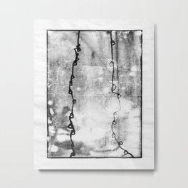 when things fell apart - ix Metal Print