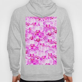 Pink Pattern Orchids Galore Hoody