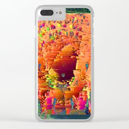 When The Sun Goes Down Clear iPhone Case