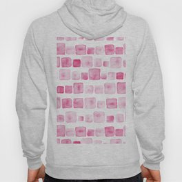 Pink and square Hoody