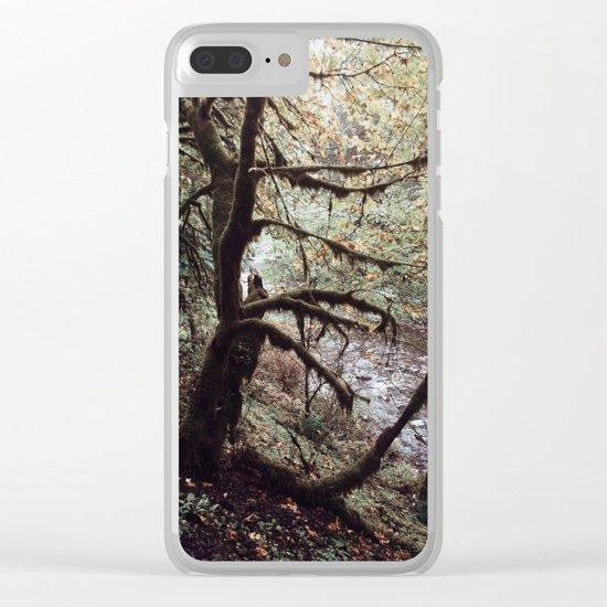 Bit of Moss Clear iPhone Case