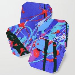 Paint Splash Print Coaster