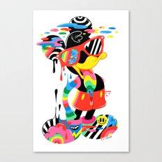 Remix Mouse Canvas Print