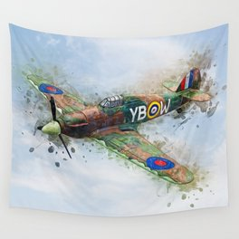 Hawker Hurricane Mk II Wall Tapestry