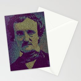 Edgar Allan Poe. Stationery Cards