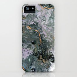 Moss Agate 5 iPhone Case
