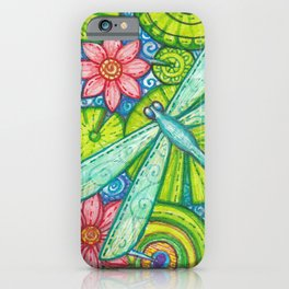 Dragonfly By iPhone Case
