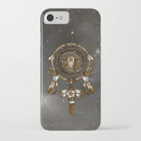 dreamcatcher iPhone & iPod Cases featuring DreamCatcher by Paula Belle Flores