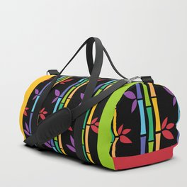 Rainbow Bamboo Duffle Bag