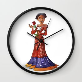 Princess Harriet Tubman (Trumble Cartoon) Wall Clock