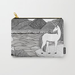 A Meeting by the Water--B&W Carry-All Pouch