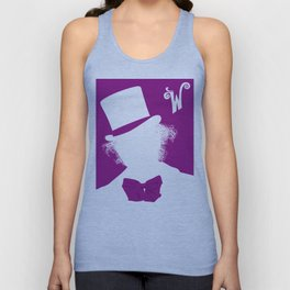 Willy Wonka Tribute Poster Unisex Tank Top