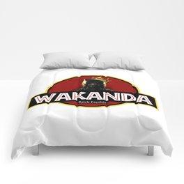 wakanda black panther Comforters