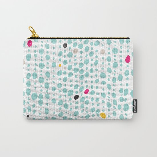 DOTS & LOOPS Carry-All Pouch