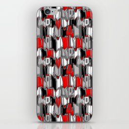 1960s classic fairy tails (tail fins) iPhone Skin