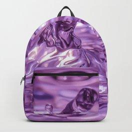 Purple phallic water drop Backpack