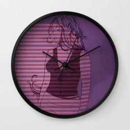 Better Days Ahead Wall Clock