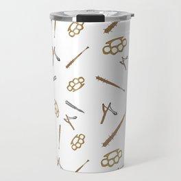 Weapons Pattern Travel Mug