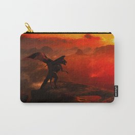 The Lonely Dragon Carry-All Pouch