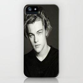 Leonardo DiCaprio Portrait iPhone Case