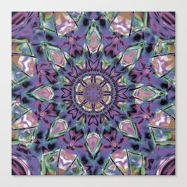 Abstract Flower AA YY QQQ Canvas Print