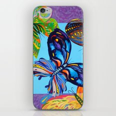 Butteflies are Free to Fly iPhone & iPod Skin