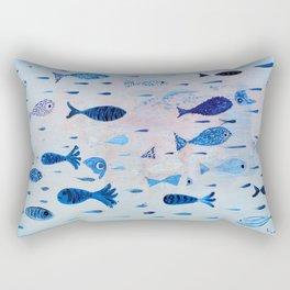 Transparencies Rectangular Pillow