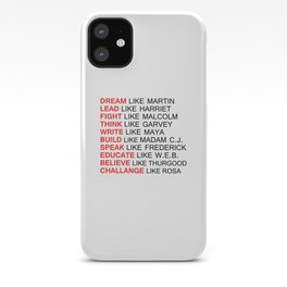 BLACK HISTORY FIGURE iPhone Case