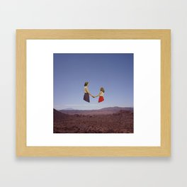 Someplace You Run To In Your Dreams Framed Art Print