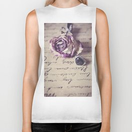 The way to your heart Biker Tank