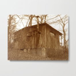 THECABIN Metal Print