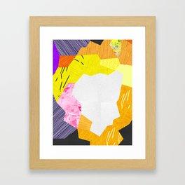Kaboom 7 Framed Art Print