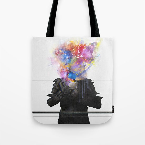 Glitch Mob Tote Bag