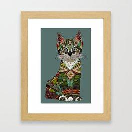 pixiebob kitten juniper Framed Art Print
