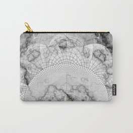 Foliated Marble as a Geometric Map of the Universe Carry-All Pouch