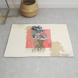 Treehouse colors Rug