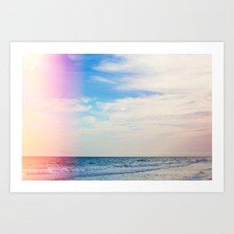 Dream Beach Art Print