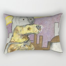 BatPaw Rectangular Pillow