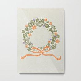 A Merry Clemson Christmas Metal Print
