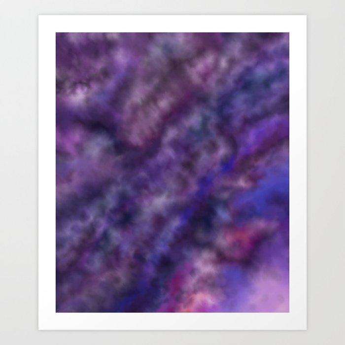 Amethyst Sky Art Print