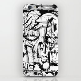 Drained - b&w iPhone Skin